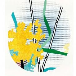 Flower with Bamboo,LICHTENSTEIN,1996