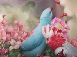 """Qiang Gang """"Bird Series No. 6"""""""