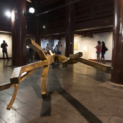 Installation view of Materialism - New Sculpture by Young Artists (1)