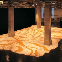 Tobacco Project Xu Bing show in 2004