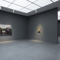 Installation View of Zhang Xiaogang