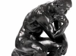 de Sarthe gallery - Rodin sculpture poster