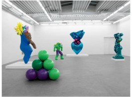 Jeff Koons at Almine Rech Gallery, 2012, Brussels, Courtesy the artist and Almine Rech Gallery. © Photo: Marc Domage