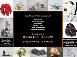 Galerie NeC HK - Carton-dinvit-Group-Show-HK-May-2013 post