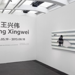 """""""Wang Xingwei"""", exhibition view, 2013  《王兴伟》展览现场,2013"""