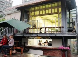 G1 Gallery outside G1画廊外景