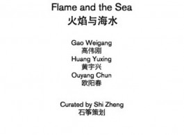 Galerie - Flame and the sea post