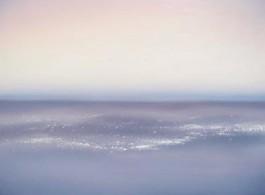 Huang Mingrong, Morning at the Salt Desert, 30 x 30, Oil on Canvas, 2013