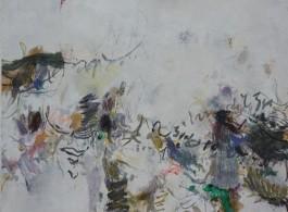 """Huang Yuanqing, """"2013-Z2,"""" 2013, Mixed media on paper,26 3/8 x 22 13/16 inches; 67 x 58 cm 黄渊青,《2013-Z2》,2013, 综合材料,纸,26 3/8 x 22 13/16英寸;67 x 58厘米"""