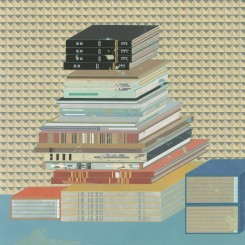 """Peng Jian,"""" Books of the Unknown"""", Color and Ink on Paper, 39 × 38.4 in, 2013彭剑,《无名之书》,纸本设色,99 × 97.5 cm,2013"""