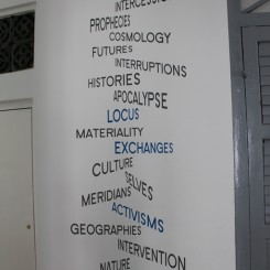 2013 Singapore Biennale buzzwords, as chosen by the curators.