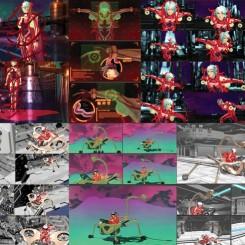 "Lu Yang, ""UTERUSMAN,"" 2013, 1920x1810 HD 3D video, edition of 6, 10'15"" 陆扬,《子宫战士》,2013,1920x1810 高清3D视频,限量:6,10分15秒"