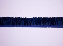 "João Vasco Paiva, ""Untitled (Lumberyard Array 3),""  2013,  Acrylic on wood, 118 x 10 x 5 cm 周奥,《Untitled ( Lumberyard Array 3)》,2013年,丙烯 木材,118 x 10 x 5 公分"
