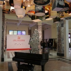 Ground floor lobby of Art021.