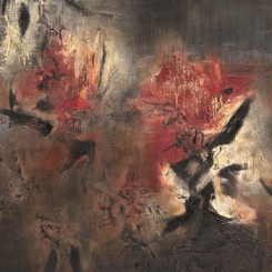 "Zao Wou-ki's 1958 oil painting ""Abstraction"", which sold for 89.68 million Yuan (US$14.7 million)"