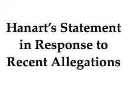 Hanart's Statement