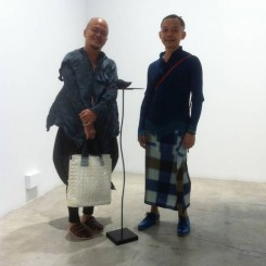"Choreographers Hock & Wong at Han Sai Por ""Moving Forest"" exhibition, STPI"