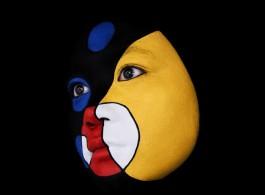 "Niko de La Faye, ""#37-Guli"", pigment print with facemount, 60x60cm, ed of 6, 2009"