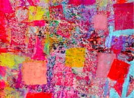 "Juju Sun, ""No. 1308 (2013)"", acrylic on canvas, 74 x 68 1/10 in 孙钧钧,《No. 1308(2013)》,布面丙烯,每幅,188 x 173cm"