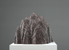 "Zhang Wei, Mountain No. 10, Bronze, H37 x W44 x D36 cm, 2006, 张伟(b.1968), ""山峰No.10"", 青铜, 37 x 44 x 36 cm, 2006"