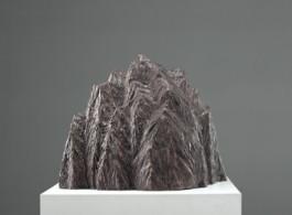 "Zhang Wei, Mountain No. 10, Bronze, H37 x W44 x D36 cm, 2006, 张伟(b.1968), ""山峰No.10"", 青铜, 37 x 44 x 36 cm, 2006"
