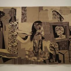 """Pablo Picasso, """"Femmes à leur toilette"""", 1971–1976毕加索,《梳妆的女人》,1971-1976"""