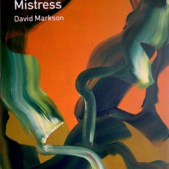 "Heman Chong, ""Wittgenstein's Mistress - David Markson"", acrylic on canvas, 61 x 46 cm, 2013"