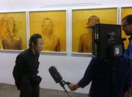Lee Wen interviewed at iPreciation Gallery, who hosted a solo exhibition for the artist at Art Basel Hong Kong