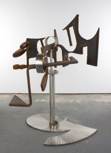 MARK DI SUVERO 马克•迪•苏沃尔 Steel Cloud (for Po Chū-Yi )云(致白居易), 2010 Steel, stainless steel 钢,不锈钢 60 x 32 x 51 inches; 152.4 x 81.3 x 129.5 cm