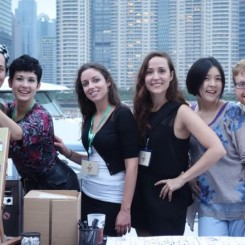 Group: Arlene Fiddes-Katy Roseland-Megan Dodd-Anneliese Charek-Sophia Lin-Sean Kelly
