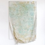 "Jeremy Everett, ""No Exit #1"", mixed media on mylar blanket, 200 x 133 cm, 2013"