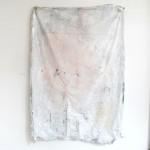 "Jeremy Everett, ""No Exit #2"", mixed media on mylar blanket, 200 x 140 cm, 2013"