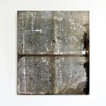 "Jeremy Everett, ""Film Still(Lightbox Exposure #1)"", silver gelatin print on mylar, 122 x 111 cm, 2013"