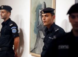 卡雷•侯拉尼,《毕加索在巴勒斯坦》,拉马拉巴勒斯坦国际艺术学院,2011