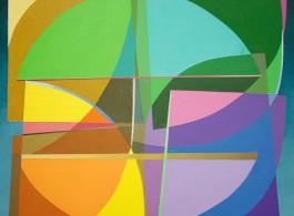 "Jaime Roque, ""Untitled"", acrylic on canvas, 61 x 61 cm, 2014"