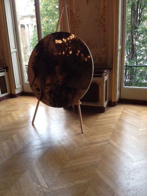 One-Day Installation By Arndt Gallery (Berlin/Singapore) In The Rococo Rooms Of The Salon France-Amérique