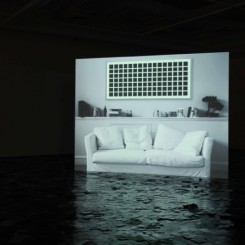 "Ho Rui An, ""A Difficulty (Grey)"",  HD video, 5' 30"", 2014."