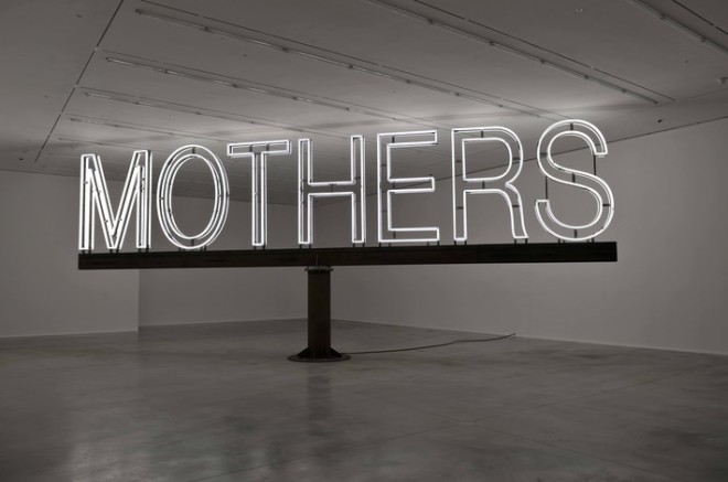 "Martin Creed, ""Work No. 1092"", white neon, steel, 500 x 1250 x 20 cm, 2011. (Installation at Hauser & Wirth Savile Row, London, © Martin Creed)"