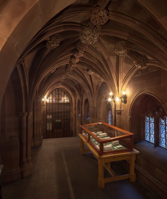 Annie Lai Kuen Wan 'Lost in Biliterate and Trilingual' (2014) at John Rylands Library - Tristan Poyser