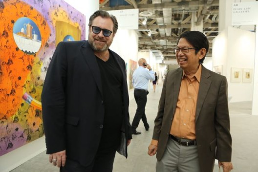 Art Stage Singapore 2014, Lorenzo Rudolf and Dr Oei Hong Djien