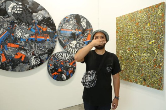 Art Stage Singapore 2014, artist Darbotz at Mizuma Gallery