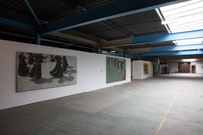 Wang Yin 'Bouyei Dances ii' (2013) and 'Tibetan Dances ii' (2013) - Tristan Poyser