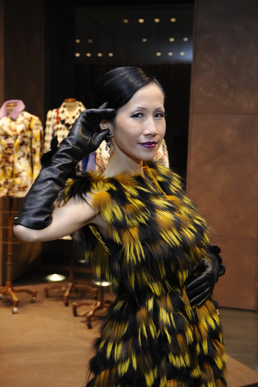 FENDI Vintage and New Fur Collections Tea Party Hosted by Chiu-Ti Jansen, Publisher of YUE Magazine