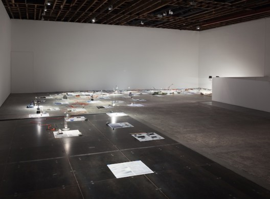 Sarah Sze, Installation view,