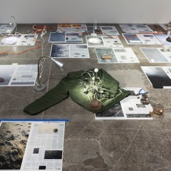 Installation view, Calendar Series, 2013-2015 (Courtesy the Artist and Victoria Miro, London ©Sarah Sze)