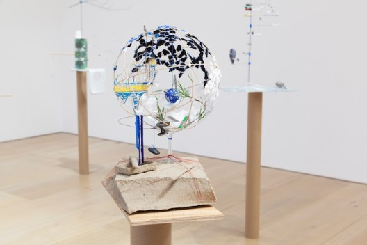 Installation view, Model Series, 2015 (Courtesy the Artist and Victoria Miro, London ©Sarah Sze)