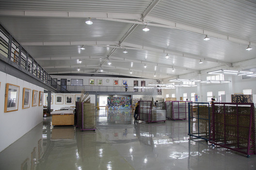 A view of Guanlan Original Printmaking Base, Shenzhen