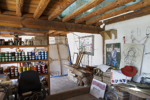 A view of the Lijiang Studio residency space