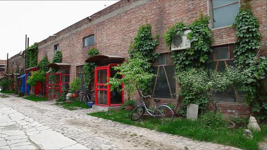Artists' studios at Red Gate Residency, Beijing