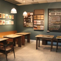 """Cafe of Letters"", a reading laboratory of texts on Philippine Art, for the exhibition ""Articles of Disagreements"" 19 September - 20 December 2014 in Lopez Museum and Library"